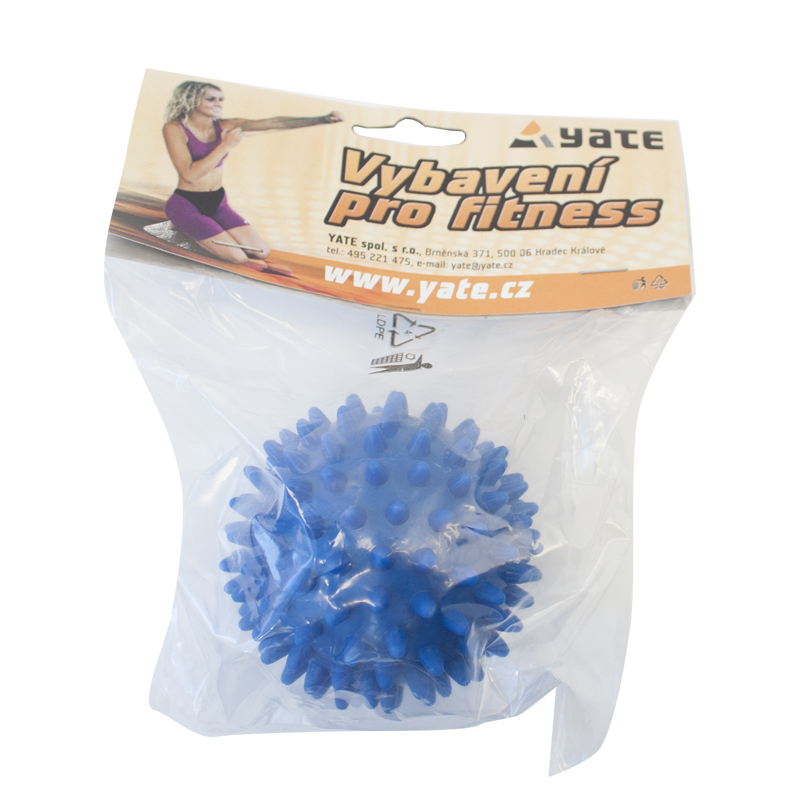 YATE Massage Spiky Ball - 9 cm  Blue