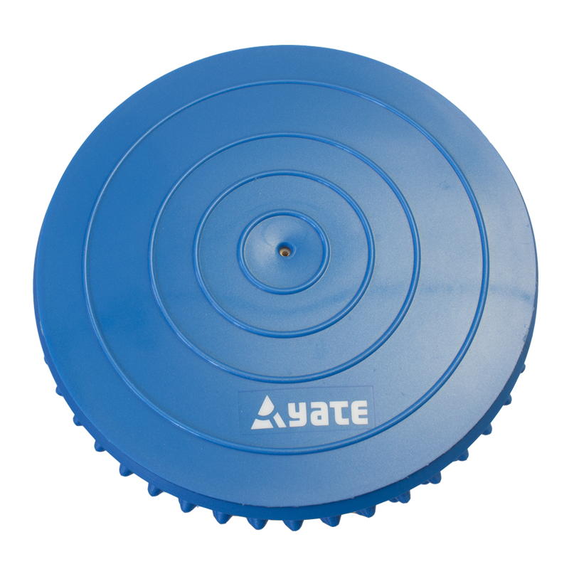 YATE Massage Spiky Half Ball - 16 cm  Blue