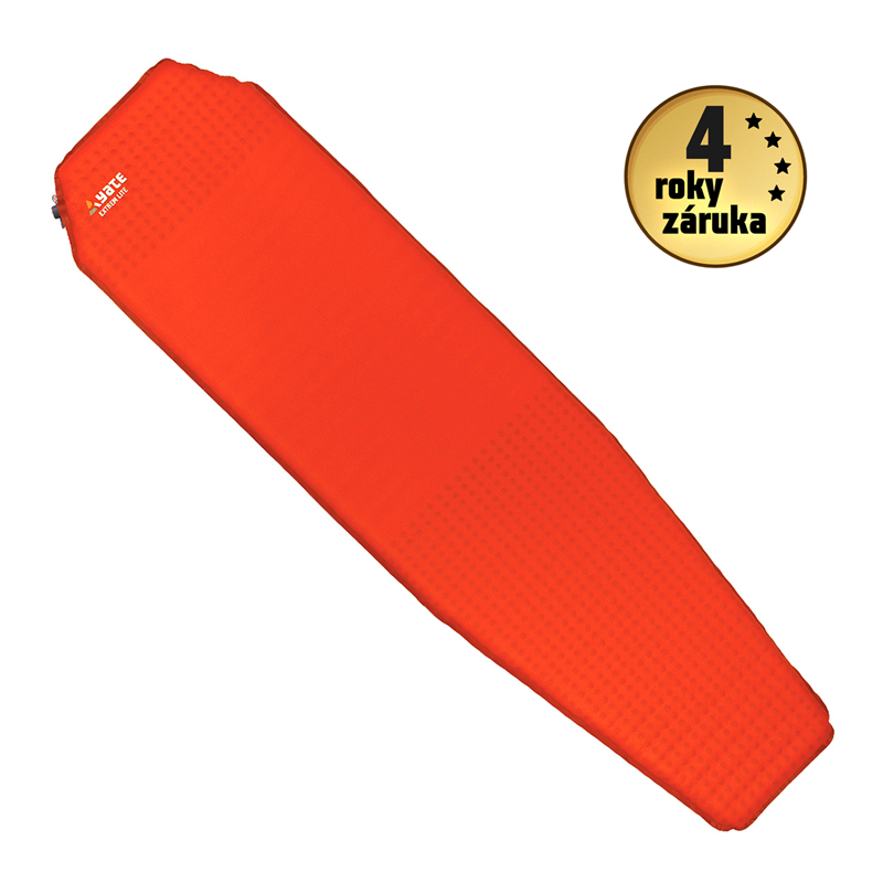 YATE EXTREM LITE 3,8 Brick Red/ Grey Self-Inflating Mat