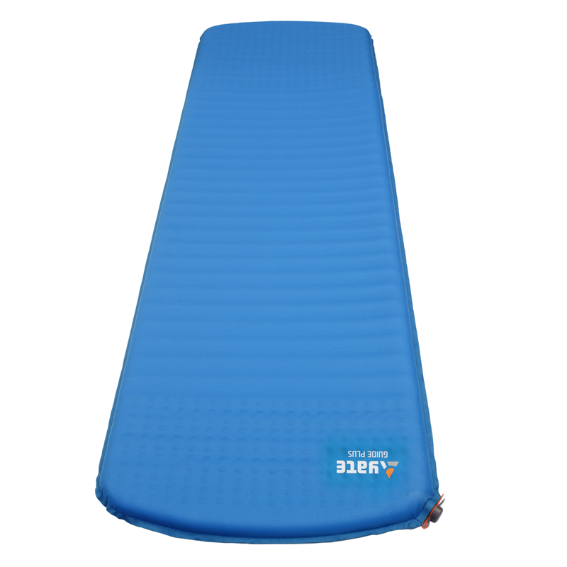 YATE GUIDE 3,8 Blue/Grey Self-Inflating Mat