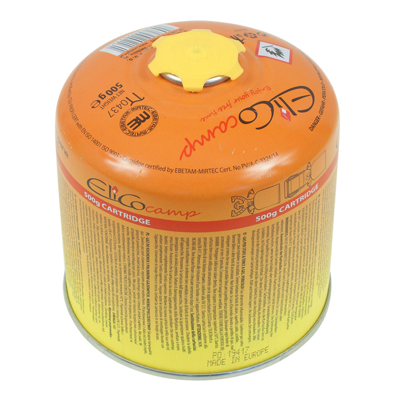 YATE ElicoCamp gas cartouche with thread  500 g