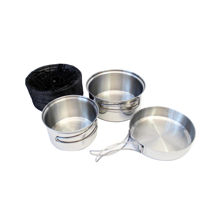 YATE Cooking Set TRAPPER - 3 parts