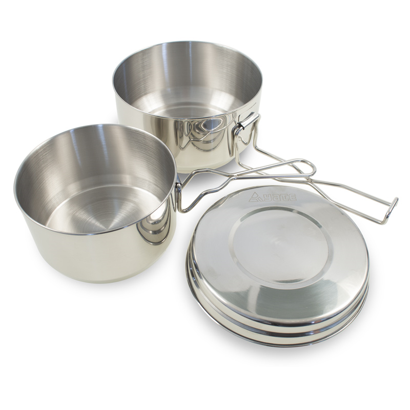 YATE POT 3 parts,  Stainless Steel