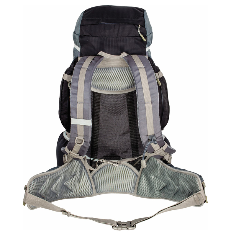 HIGHLANDER Rocky 35+5L Backpack  Black/Grey