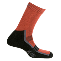 MUND ANDES X-Static Socks, brick