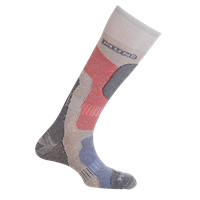 MUND SKIING PRIMALOFT Socks, Grey