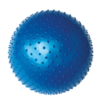 YATE Gymball - 65cm with Spikes  Blue