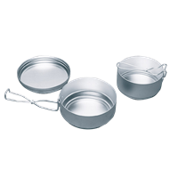 YATE Alu Pot 3 parts