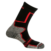 MUND PAMIR socks black/red