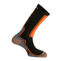 MUND NORDIC BLADING/ROLLER Socks black/orange