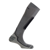 MUND SKIING OUTLAST Socks, grey