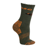 MUND HIMALAYA KIDS Socks khaki/orange