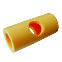 YATE Connector for Swimming Noodle With Side Holes Yellow 22 cm