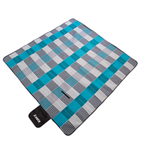 YATE Picnic Quilt Fleece with PEVA Foil - 200x200 cm