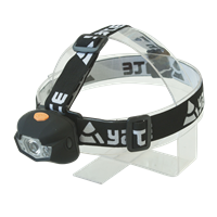 YATE Headlamp PANTER 3 W CREE + 2 LED black