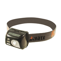 YATE VEGA AKU Headlamp Black