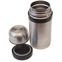 Highlander Duro Food Flask 1L Silver