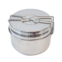 YATE  BASIC POT 3 parts  stainless steel
