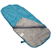 HIGHLANDER Sleephaven Junior Sleeping Bag Blue