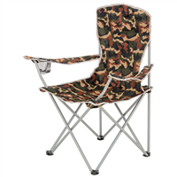 HIGHLANDER Moray Camp Chair With Arms - Camo