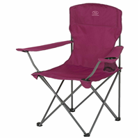 HIGHLANDER Moray Camp Chair With Arms - Purple