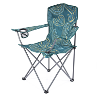 HIGHLANDER Moray Camp Chair With Arms - Teal