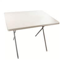 HIGHLANDER Outdoor Folding Table White Large