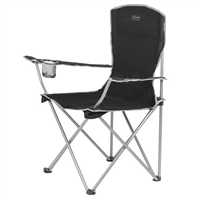 HIGHLANDER Moray Camp Chair With Arms Black