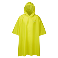 Trekmates Essential Poncho Raincoat Yellow