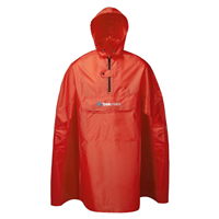 Trekmates PAK Poncho Raincoat Red